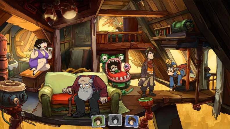 Buy Deponia: The Complete Journey Steam Key | Instant Delivery | Steam CD  Key